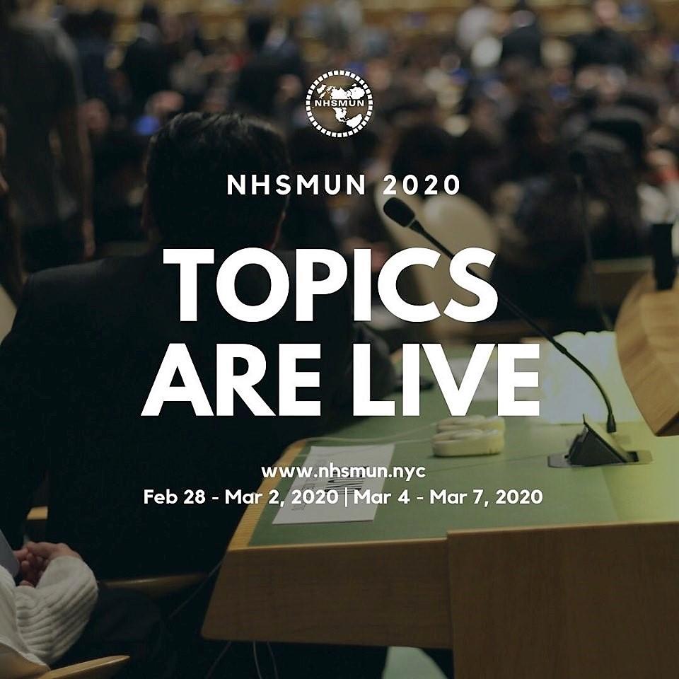 Topics Are Live!